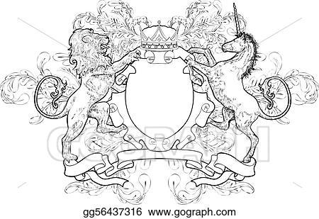 shield coat of arms li...