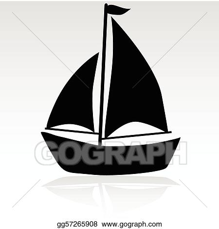 ship simple illustration