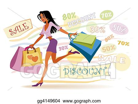 Shopping girl