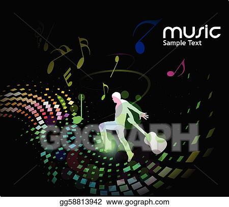 Enjoy the Music Clip Art