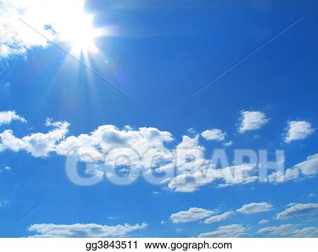 Sky-sun-clouds