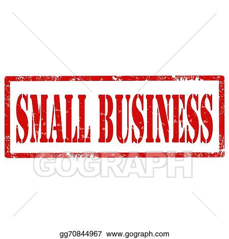 Vector Stock - Small business-stamp. Clipart Illustration ...
