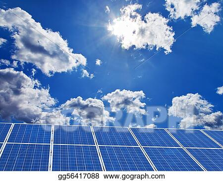 Solar power plant for solar energy