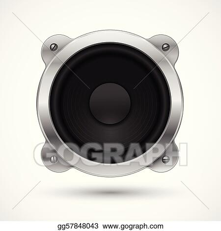 Speaker icon. Element for your urban design.