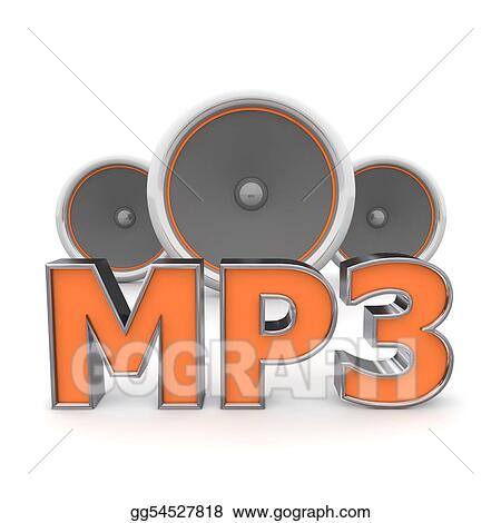 Speakers MP3 - Orange