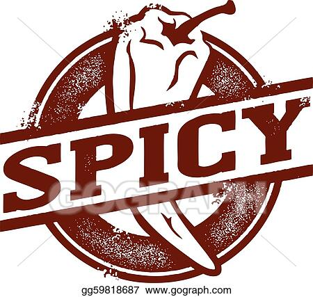 Spicy Food Chili Pepper Stamp