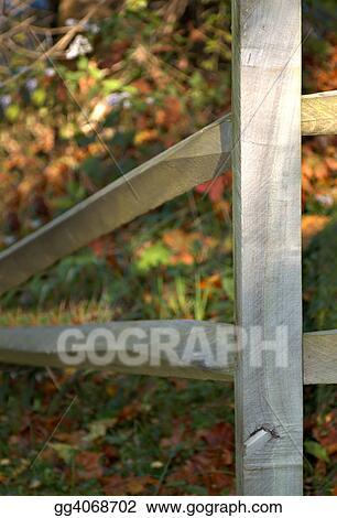 Split rail corner