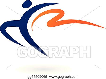 Sport vector figure - gymnastics