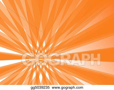 Stock illustration sunrays sunflare texture background in orange and