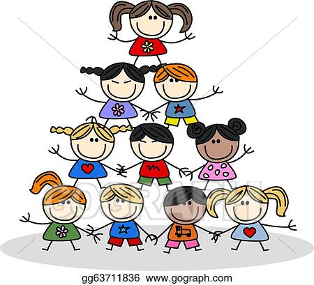 teamwork kids ethnicity  Race And Ethnicity Clip Art