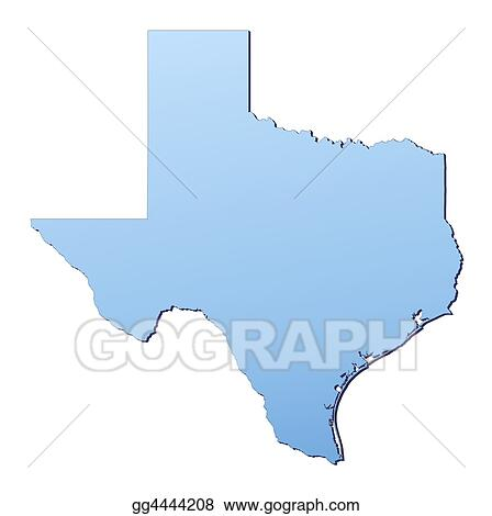 Texas(USA) map
