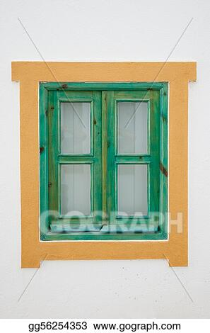 Traditional Portuguese window
