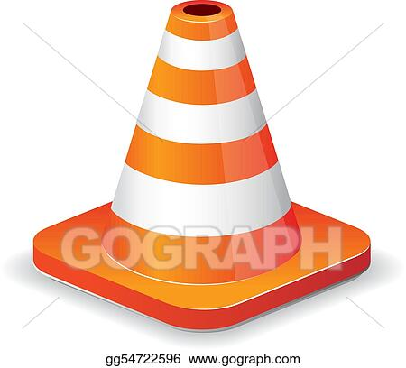 Traffic cone icon