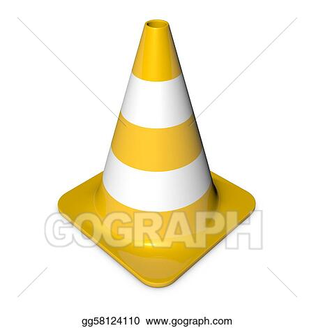 Traffic Cone - Shiny Yellow