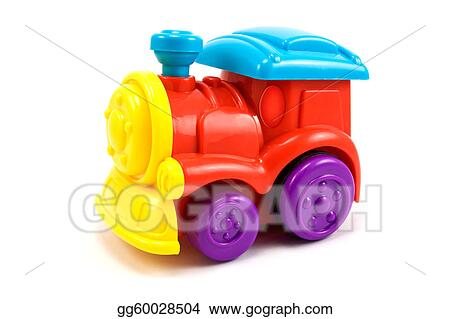 Train locomotive colorful toy