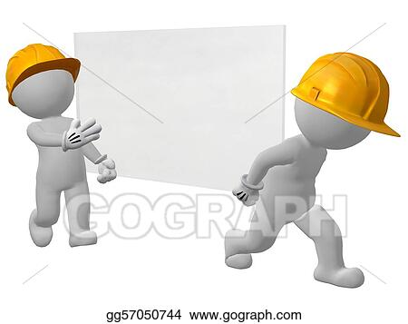 two work men carrying pane of glass