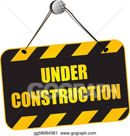 Clip Art Under Construction Clipart stock illustration hello under construction clipart drawing sign