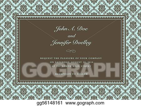 Vector Mint Frame and Sample Text