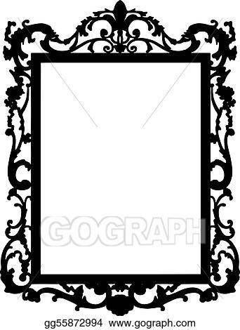 Vector clipart vintage frame vector vector illustration gg55872994