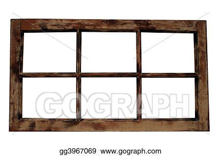 Weathered Window Frame