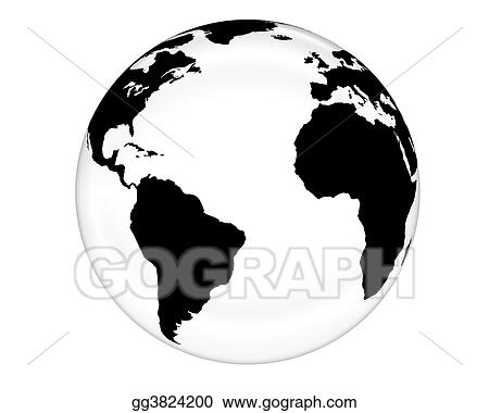 White Glass Globe