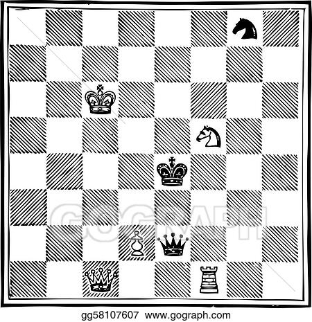 White Pawn (Alice) to play, and win in eleven move. Chess game.
