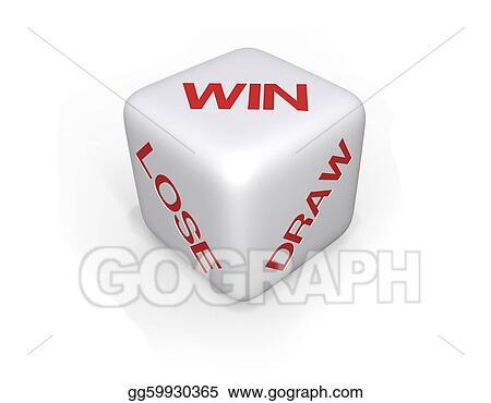 Win, Lose or Draw Dice - XL
