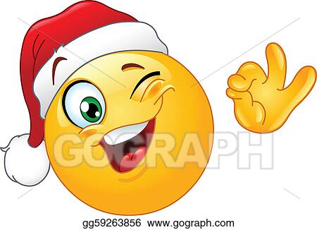 Smiley stock photos royalty free images amp vectors shutterstock - Drawing Art Of Cute Cartoon Santa Claus Expression Vector