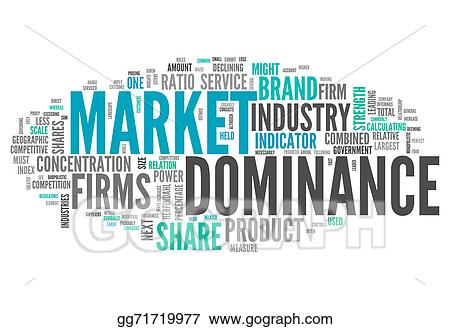 Word Cloud Market Dominance — Stock Photo © mindscanner #48955777