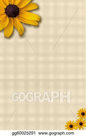 Yellow Flower Stationery