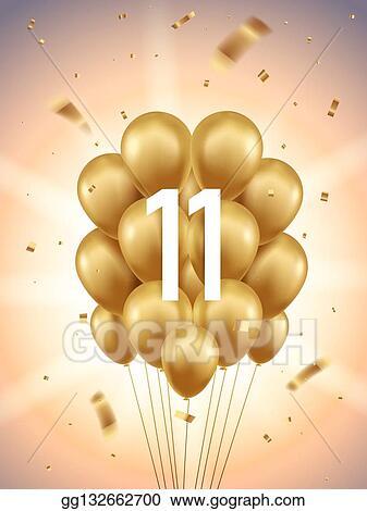 Golden Balloons Clip Art Royalty Free Gograph