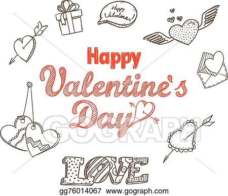 Vector Art 14th February Collection Happy Valentine S Day
