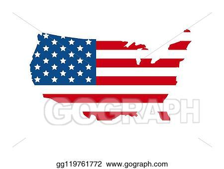 Vector Illustration 2020 Vote In Usa American President Banner