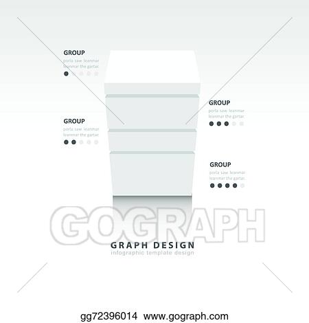 3D Cube Template | Eps Vector 3d Cube Vector Template For Infographic White