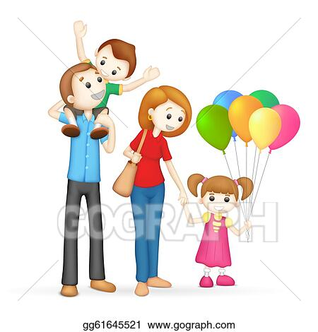 happy family clip art royalty free gograph rh gograph com free family clipart free family clipart