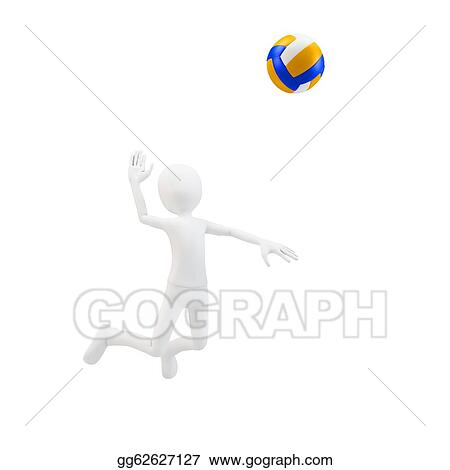 Team Sport Volley Ball Stock Illustrations - Royalty Free - GoGraph