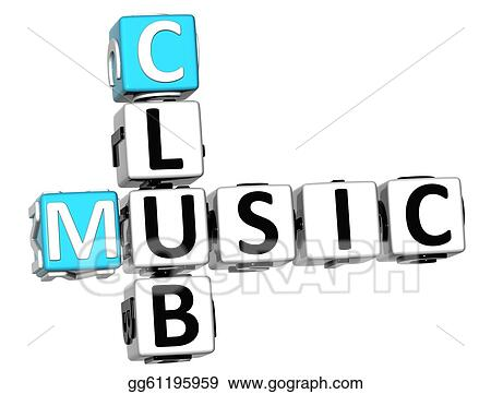3D Music Club Crossword