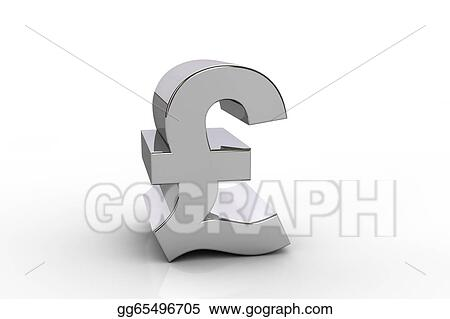 Drawing 3d Pound Sterling Currency Symbol Clipart Drawing