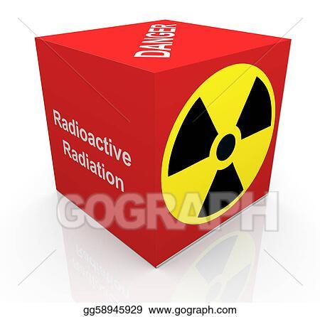Stock Illustration 3d Radiation Symbol Clipart Illustrations