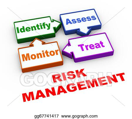 drawing 3d risk management cycle clipart drawing gg67741417 gograph rh gograph com management clipart free download time management clipart