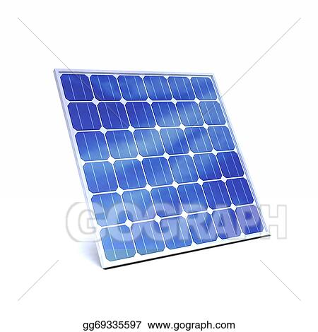 Drawing 3d Solar Panel Clipart Drawing Gg69335597 Gograph