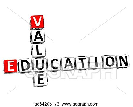 3D Value Education Crossword