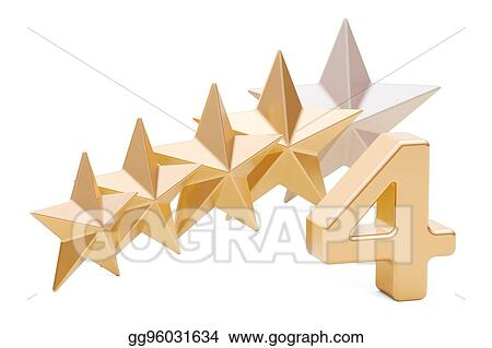 Four Star Stock Illustrations – 6,699 Four Star Stock Illustrations,  Vectors & Clipart - Dreamstime