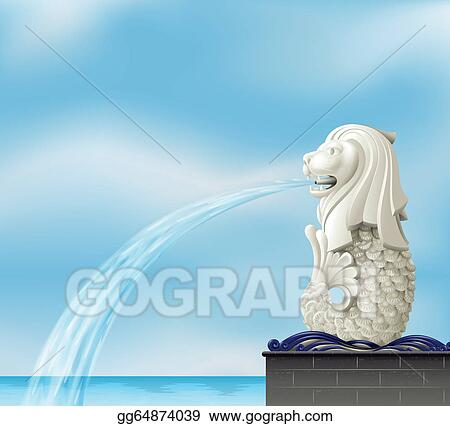A Statue Of Merlion