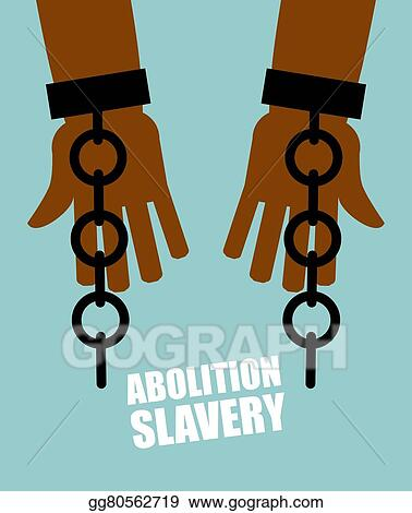 Hands Black Slave With Broken Chains Shattered Shackles Handcuffs Long Awaited Freedom Liberation From Oppression Of Planters