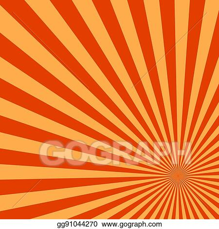 Sun rays abstract. Vector clipart background of