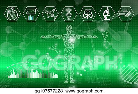 EPS Illustration - Abstract background technology concept in