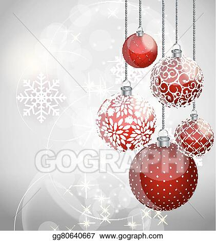 abstract beauty christmas and new year background vector illust
