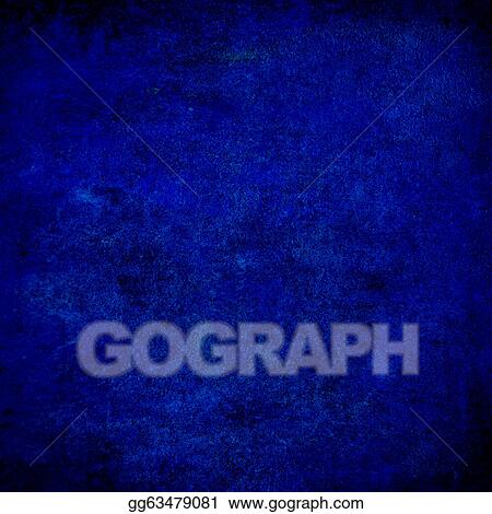 drawing abstract blue background or paper with bright center