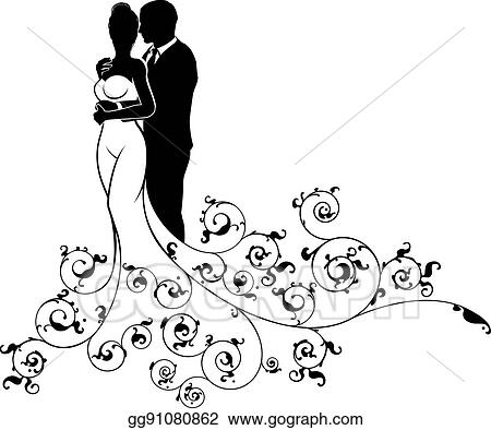 Abstract Wedding Art